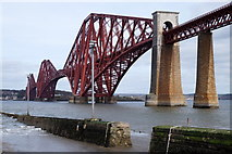 NT1378 : The Forth Bridge from Hawes Pier, Queensferry by Mike Pennington