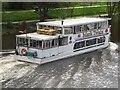 SJ4065 : Mark Twain, River Dee, Chester by Graham Robson