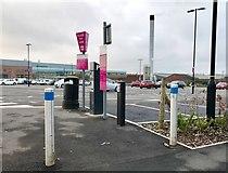 SJ8545 : Car park furniture at the Royal Stoke University Hospital by Jonathan Hutchins