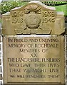 SD8913 : Lancashire Fusiliers memorial by Gerald England