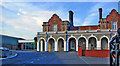 TL8507 : Maldon East & Heybridge station, remains 2015 by Ben Brooksbank