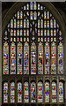 TA1767 : West window, Bridlington Priory by Julian P Guffogg