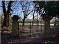 SJ7991 : Park Gates by Bob Harvey