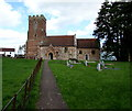 ST2939 : Holy Trinity church, Chilton Trinity by Jaggery
