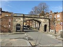 SJ4065 : Bridgegate, Chester by Graham Robson