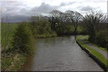 SD4764 : Folly Lane Bridge looking south by Robert Eva