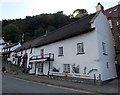 SS7249 : Thatched buildings, Mars Hill, Lynmouth by Jaggery