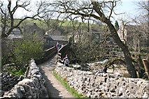 SE0063 : 'Tin Bridge' from Sedber Lane by Dr Neil Clifton