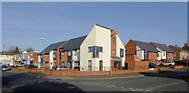 SO9096 : Modern apartments in Penn, Wolverhampton by Roger  Kidd