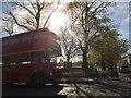 TQ1977 : Routemaster bus on Kew Green by David Howard