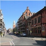 SK5804 : Leicester: Millstone Lane by John Sutton
