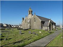 SH3568 : St Beuno's Church in Aberffraw by Neil Theasby