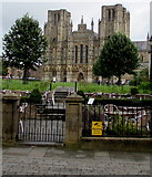 ST5545 : Wells Cathedral from Sadler Street Wells by Jaggery