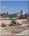 SO9198 : Wolverhampton Indoor Market redevelopment 4 by Roger  Kidd