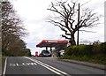 SY9880 : Filling station at Harman's Cross by David Smith