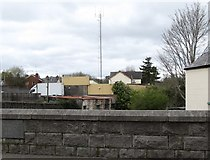 J2053 : Girdled with steel - Dromore's PSNI Station by Eric Jones