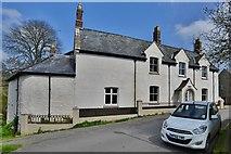 SY5697 : Toller Porcorum: Fine house in School Lane by Michael Garlick