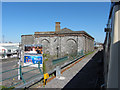 N0341 : Shed at the former Athlone Midland station by Gareth James