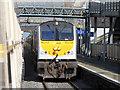 N7312 : Express train at Kildare station by Gareth James