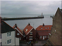NZ8911 : Whitby Harbour by Malcolm Neal
