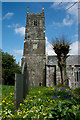 SS4619 : The church of St Mary & St Gregory, Frithelstock by Roger A Smith