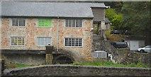 SX7962 : Shinner's Bridge Mill by N Chadwick