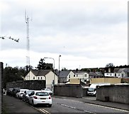 J2053 : Dromore PSNI Station viewed along Meeting Street by Eric Jones