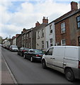 SO6303 : Vehicles and houses, Queen Street, Lydney by Jaggery