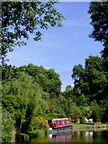 SK0120 : Trent and Mersey Canal near Colwich, Staffordshire by Roger  Kidd