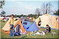 SP5117 : Diamond Farm Campsite, July 1979 by Jeff Buck