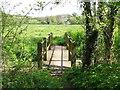 SK4236 : Footbridge over a stream by Ian Calderwood