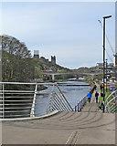 NZ2742 : Durham: Framwellgate Waterside by John Sutton
