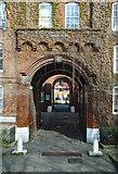 TQ3084 : Entrance, Carrick House, Caledonian Road by Jim Osley