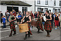NR8668 : Tarbert drummers procession by Malcolm Neal