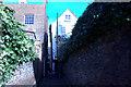 TQ7468 : Rochester alleyway by Robert Eva