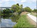 TQ3797 : River Lee Navigation at Brimsdown by Marathon