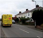 ST3090 : Yellow van in Malpas, Newport by Jaggery
