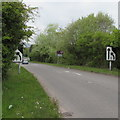 ST2787 : Entrance slip road to the A467 northbound, Rogerstone, Newport by Jaggery