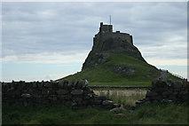 NU1341 : Lindisfarne Castle by Malcolm Neal