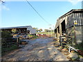 NZ1744 : Farmyard at Malton House Farm by Robert Graham