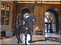 SJ8497 : Horse sculpture by Bob Harvey