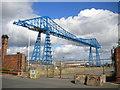 NZ4921 : Tees Transporter Bridge, Middlesbrough by Richard Vince