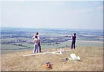 SP9516 : Ivinghoe Beacon, July 1979 by Jeff Buck