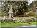 NY8986 : War memorial for the parish of Corsenside by Trevor Littlewood