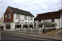 TQ0866 : The Red Lion at Shepperton by Robert Eva