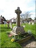 TG2834 : St Botolph, Trunch: war memorial by Basher Eyre