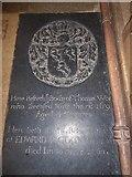 TG2834 : St Botolph, Trunch: ledger slab (3) by Basher Eyre