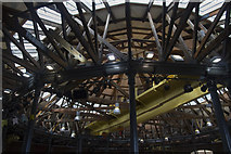 SK3635 : The Roundhouse Roof by Malcolm Neal