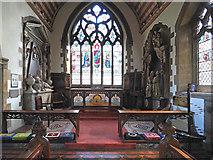 TQ0682 : St John the Baptist, Hillingdon - Sanctuary by John Salmon