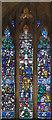 TQ1671 : St Alban, Teddington - now the Landmark Art Centre - Stained glass window by John Salmon